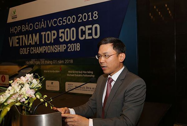 Ra mắt giải golf Vietnam Top 500 CEO Golf Championship
